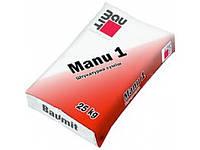 Стартовая штукатурная смесь Baumit Manu 1