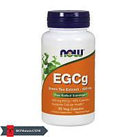 NOW EGCg Green Tea Extract 400 mg 90 veg капсул