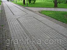Брусчатка квадрат (серая)покост., фото 2