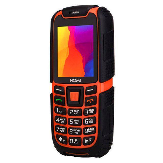 Противоударный Телефон Nomi i242 Yellow