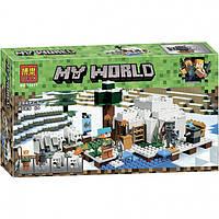 Конструктор Minecraft Bela 10811 Иглу