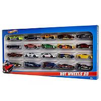 Подарочный набор Hot Wheels H7045 из 20-ти автомобилей, фото 1