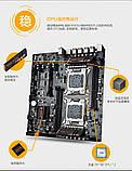 Материнская плата HuananZHI X79 Dual Board Motherboard Huanan LGA2011 e5-2680 V2, V1 2680, Lga 2011 2 Кулера, фото 4
