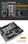 Материнская плата HuananZHI X79 Dual Board Motherboard Huanan LGA2011 e5-2680 V2, V1 2680, Lga 2011 2 Кулера, фото 6