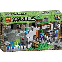 Конструктор Minecraft Bela 10810 Пещера зомби