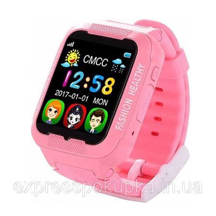 Умные детские часы с GPS трекером Smart Baby Watch K3 (GPS+LBS) в двух цветах