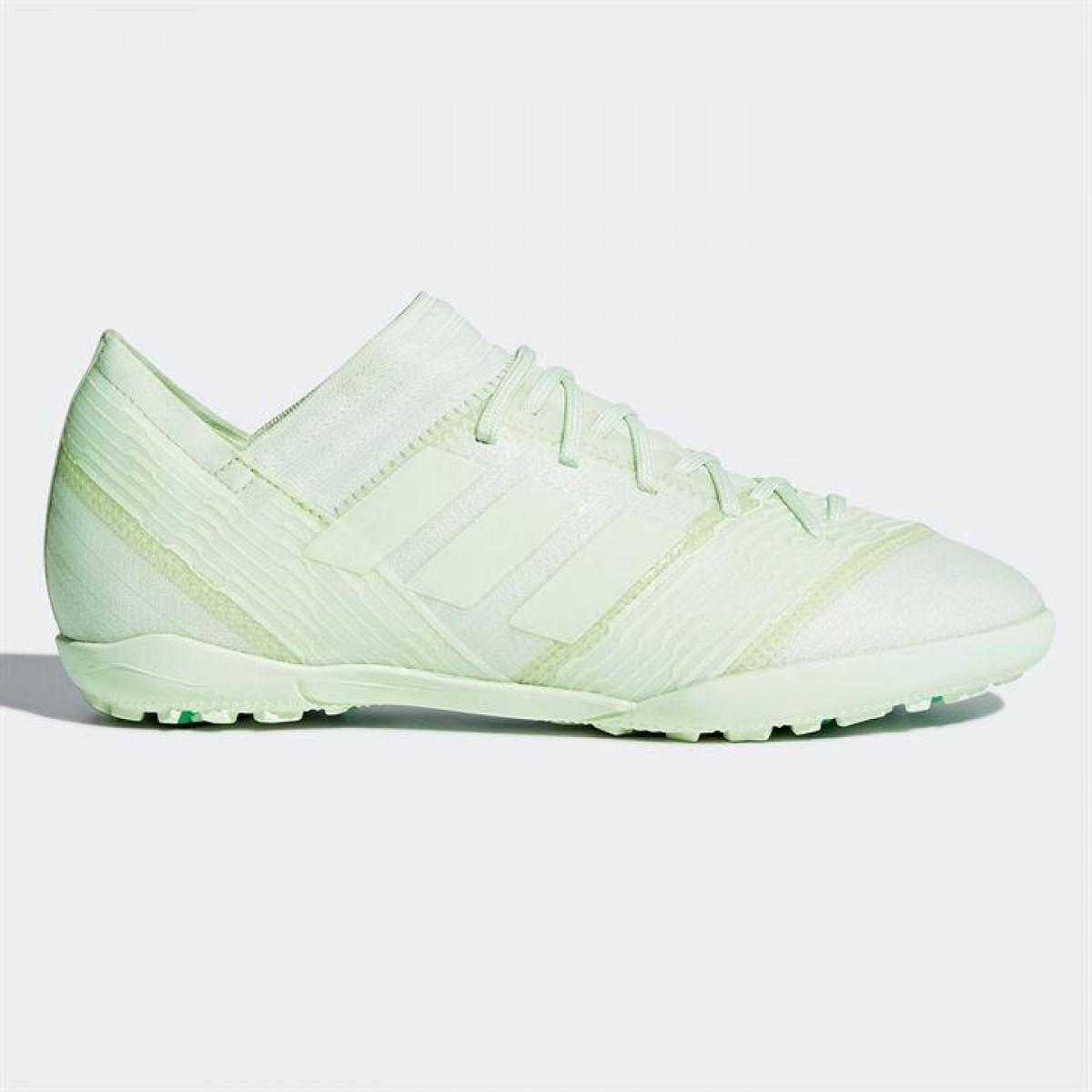 Кроссовки Adidas Nemeziz Tango 17.3 Childrens Astro Turf Trainers  AeroGreen Green - Оригинал 674af8ebb938b
