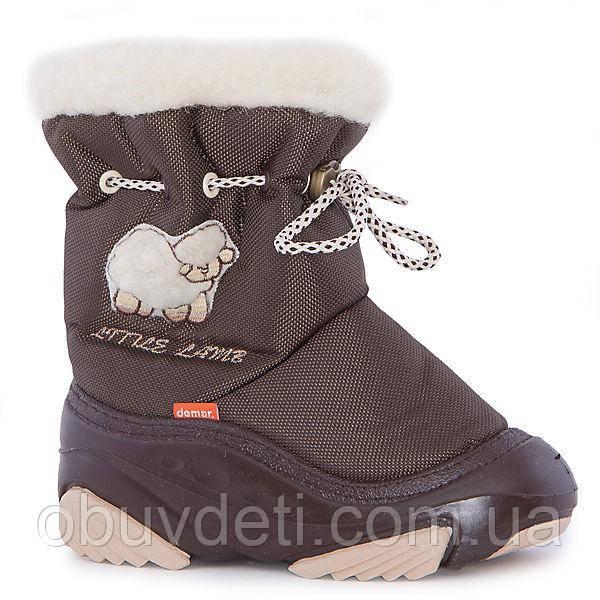 Дитячі чоботи зимові дутіки Demar Little Lamb 24-25 (15.8 cm)
