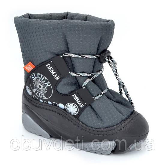 Дитячі теплі зимові черевики Demar 24-25р - 15,8 см