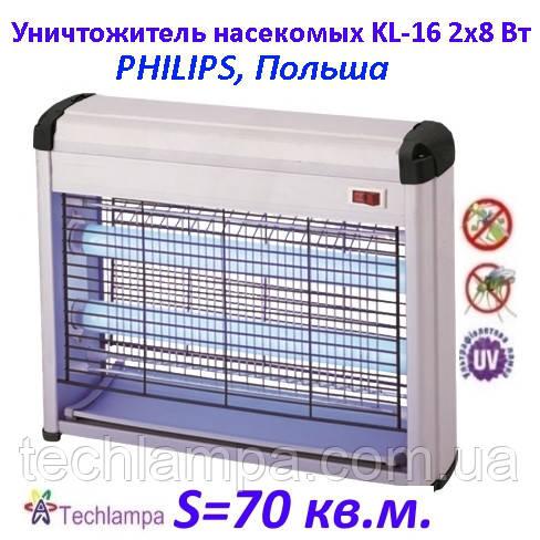 Уничтожитель насекомых KL-16 16W Philips, Польша