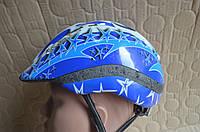 Дитячий велосипедний шолом KED з Німеччини / 52-57 см