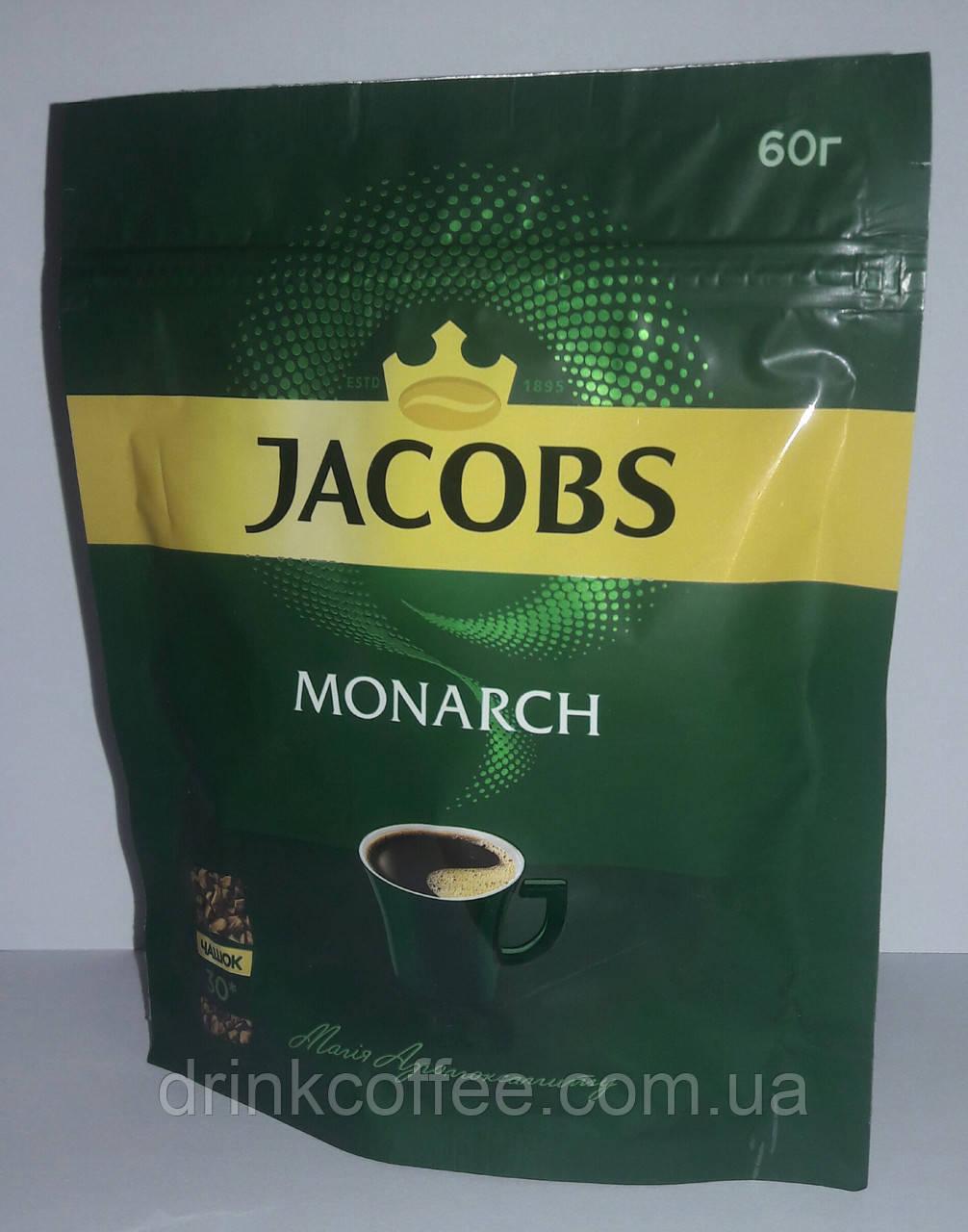 Кофе JACOBS Monarch, растворимый, 60g