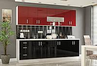 Кухня Гамма Мебель-Сервис 2800 мм глянцевые фасады
