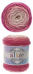 Турецкая пряжа Alize Superlana Maxi Long Batik для ручного вязания полушерсть №6769