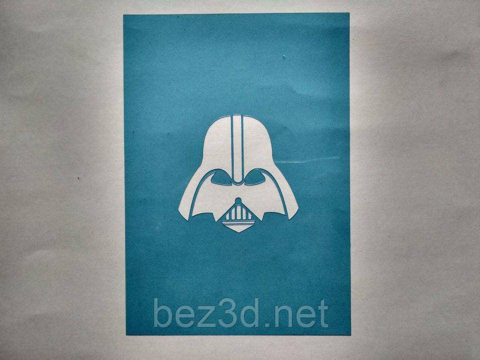 """3D формочки-вырубки для пряников """"Звездные войны. Дарт Вейдер"""""""