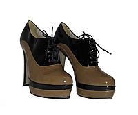 Ботильоны Woman's heel 38 черные (О-586), фото 1