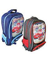 Рюкзак школьный EL-979  CAR, 39х29х10 см. (1, 1, 50)