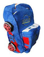 Рюкзак детский 1257-43, ТАЧКИ-МЕХ, 35х29х10 см. (300, 30, 10)