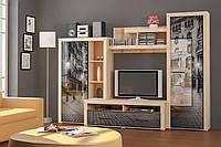 Стенка Мебель-Сервис  Неон-1 2180х3000х605 мм, фото 1