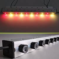Светодиодный светильник для растений GrowSvitlo, 20 Вт, 660нм+3000К
