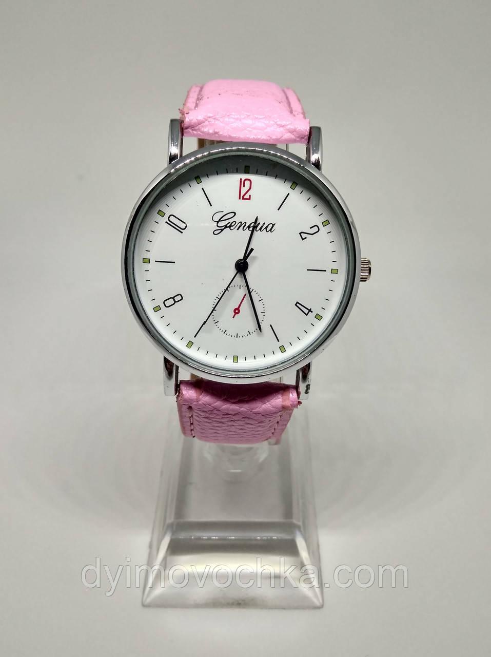 ec58961a02a9 Женские Классические Часы Geneva 100-47 Розовый — в Категории