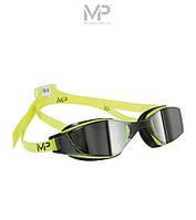 MP XCEED Mirror (Yellow/Black) – зеркальные очки от Майкла Фелпса