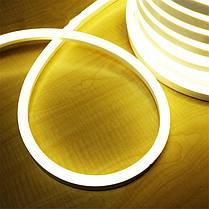LED НЕОН SMD 2835/120 220V белый теплый IP68 Код.58862, фото 3