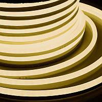 LED НЕОН SMD 2835/120 220V белый теплый IP68 Код.58862