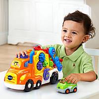 Интерактивный музыкальный автовоз Car Carrier Smart Wheels Deluxe VTech Go Go, фото 1