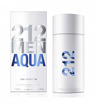 Carolina Herrera 212 Men Aqua Limited edition, мужская туалетная вода 100 мл