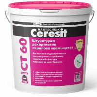 Штукатурка декоративная акриловая камешковая Ceresit СТ 60 (CT 60) зерно 2,5 мм 25 кг, фото 1