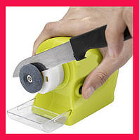 Точилка для ножей Motorized Knife Sharpener, Точилка для ножей и ножниц на батарейках, Ножеточка
