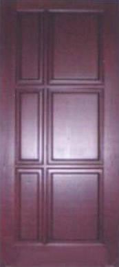 Дверное полотно из массива сосны модель М30