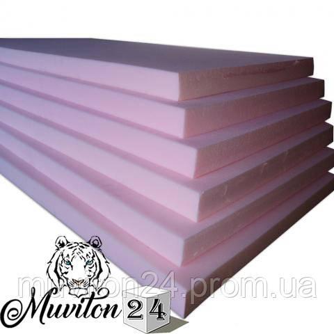 Поролон мебельный 100мм.(1,2х2м.) 25-Плотность