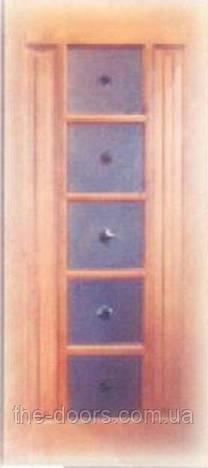 Дверное полотно из массива сосны модель М31 рамочное