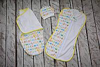 """Комплект пеленок для новорожденного, """"Азбука"""", фото 1"""