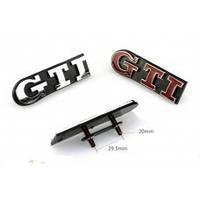 Надпись шильдик на решетку радиатора GTI Volkswagen