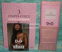 Мини-парфюм в чехле Dolce&Gabbana 3 L'imperatrice