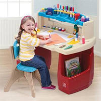 Step2 Детский столик парта Deluxe Art Master Kids Desk