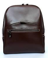 """Женский кожаный рюкзак """"Alexis"""" темно-коричневый"""