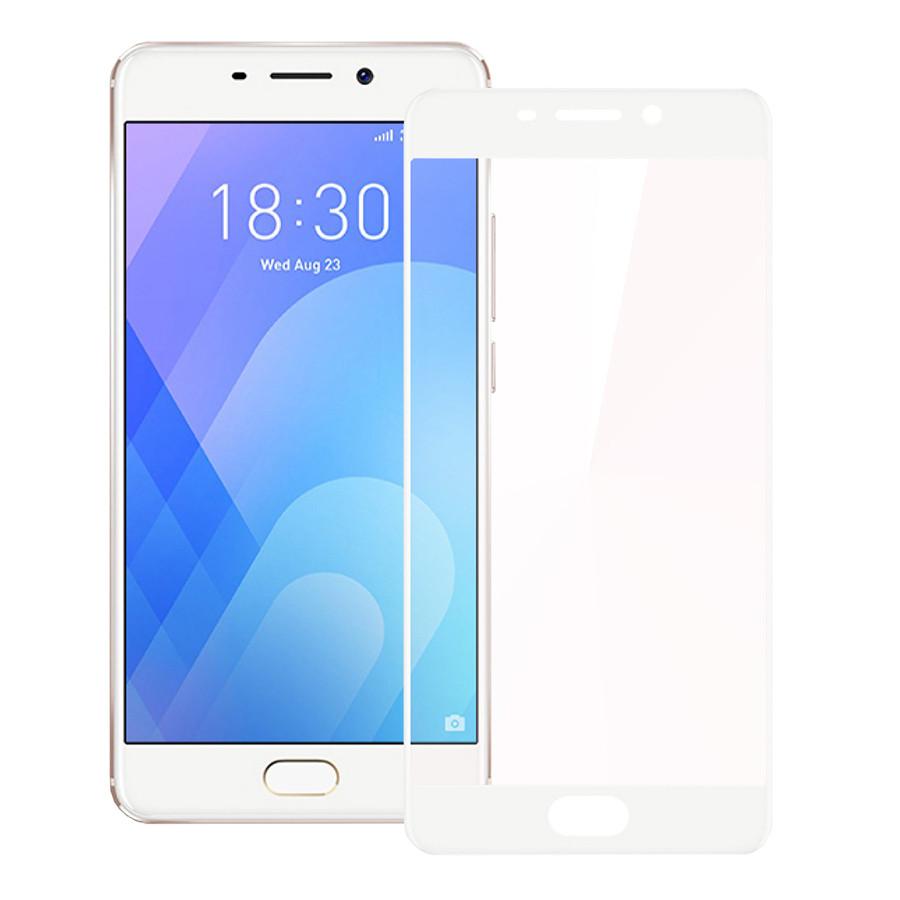 Защитное стекло для Meizu M6 Note 3D White