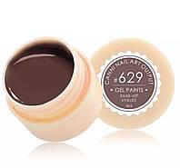 Гель-краска CANNI 629 (коричневый), 5 мл