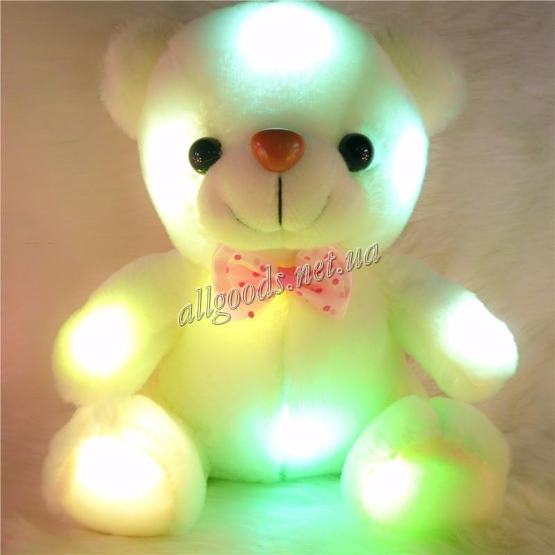 Мишка светящийся. Мягкая игрушка Медведь(bear22cm)