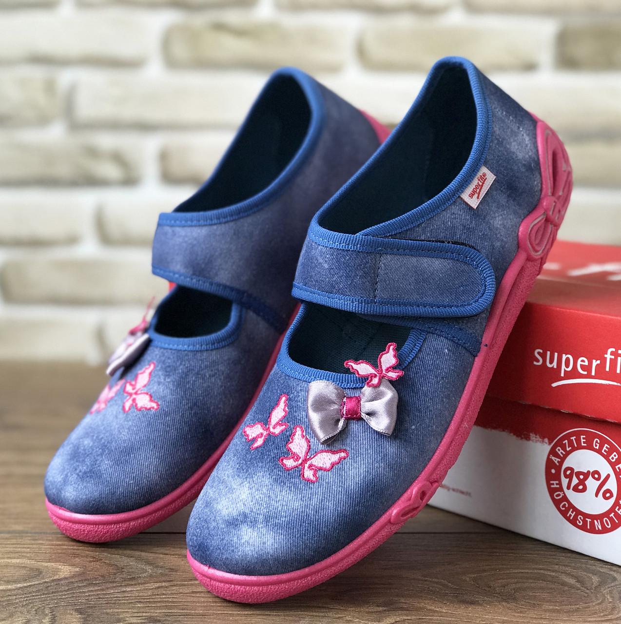 ae4d66f67 Текстильные кеды Superfit (Австрия, р 35. Обувь для девочки, фирменная детская  обувь