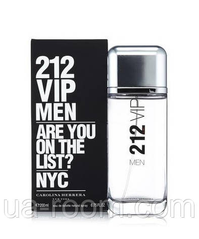 Carolina Herrera 212 VIP Men, мужская туалетная вода 100 мл, фото 2