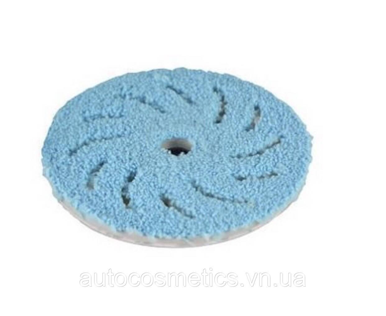 Полировальный круг из микрофибры RUPES Ø 150/170мм COARSE, синий