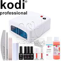 """Стартовый набор """"Kodi Professional""""+VitiNails c Топ и Базой 2в1"""