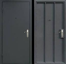 Двери металлические без утепления
