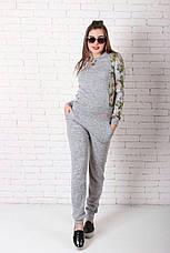 Женский костюм №211 серый, фото 3