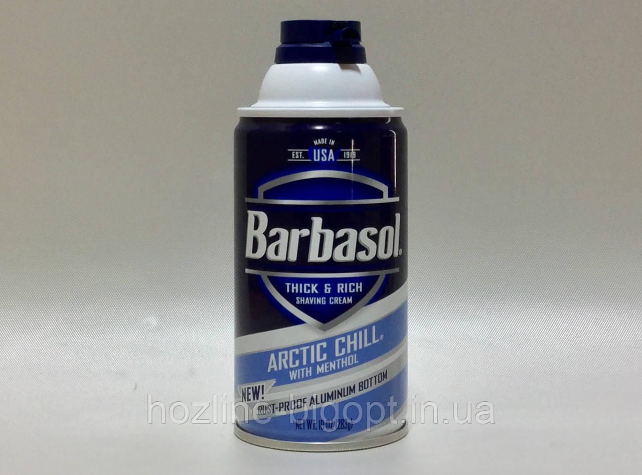 Barbasol Пена для бритья Arctic Shill 283 гр. (с ментолом)